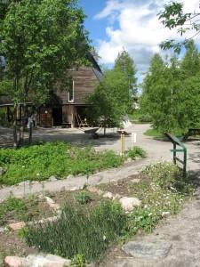 Fjällträdgårdens informationsbyggnad