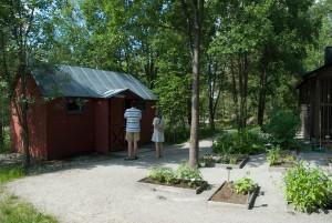 Hambergsstugan i Jokkmokks fjällträdgård
